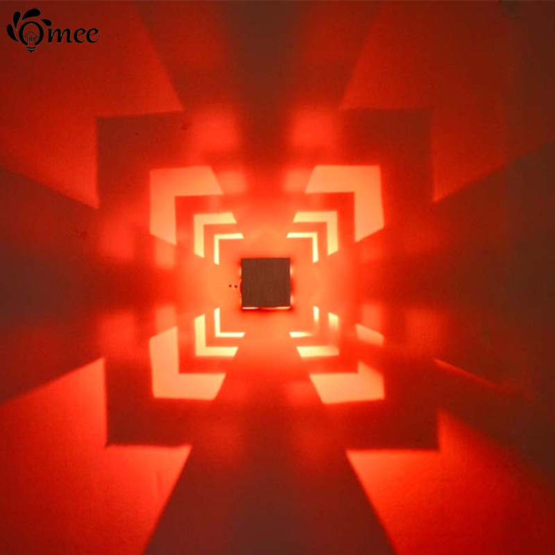 cheap lighting effects. colorful 3w led wall lamp aluminum aisle tvclub background decoration lightparty or project effects lighting square ac85265v cheap r
