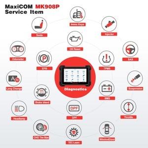 Image 5 - Autel MaxiCOM MK908P MS908P automotive diagnostic tool obd2 scanner alle system ECU programmierung J2534 programmierer PK Maxisys Elite