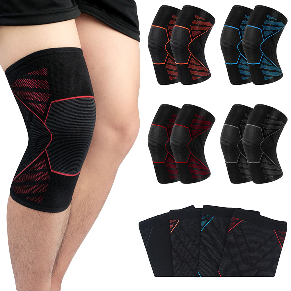 Sports Protection Knee Elastic Soft Breathable Brace Support Basketball Football SPSLF0094