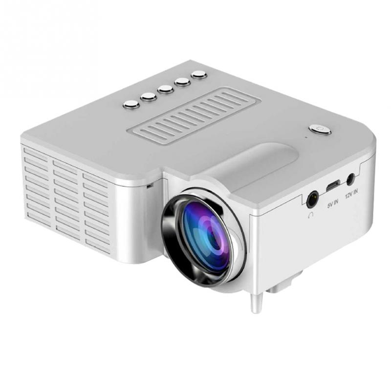 Mini uc28a 500 lumens portable mini led home theater for Mini portable video projector