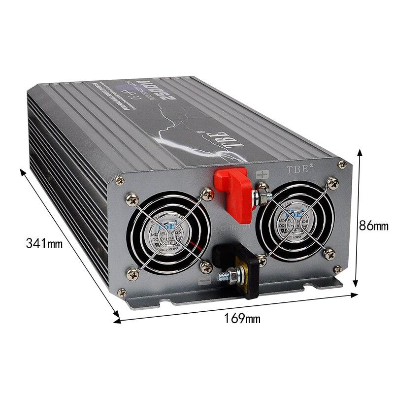 2500W-2500WATT-Car-12V-DC-In-to-220V-AC-Out-Pure-Sine-Wave-2-5KW-Power (4)
