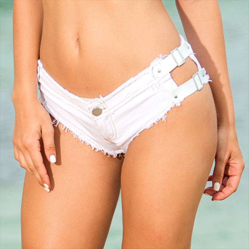 Shorts Brief Mid Waist Womens Cute Summer Shorts Fashion Ruched Casual Shorts Female