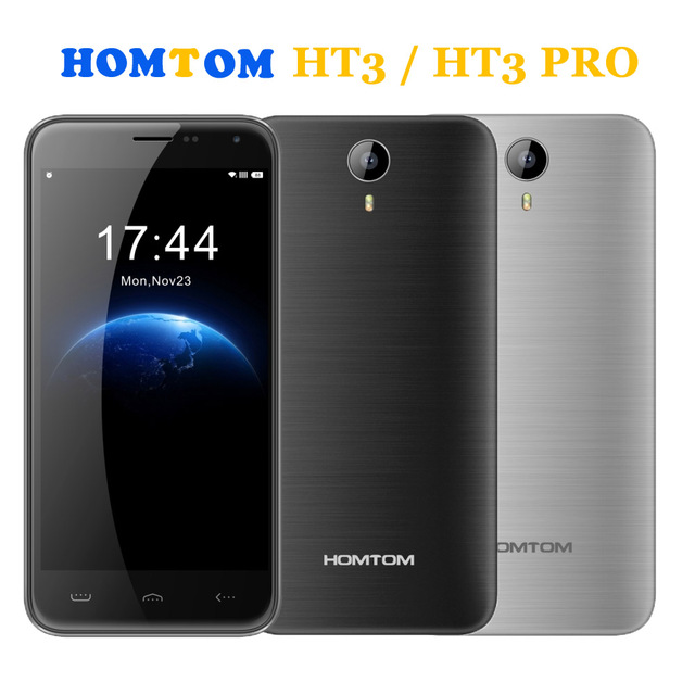 Оригинал HOMTOM HT3 PRO 3000 мАч 16 ГБ + 2 ГБ 4 Г Android 5.1 MTK6735P/HOMTOM HT3 8 ГБ + 1 ГБ 3 Г 5 дюймов Android 5.1 MTK6580A Quad Core