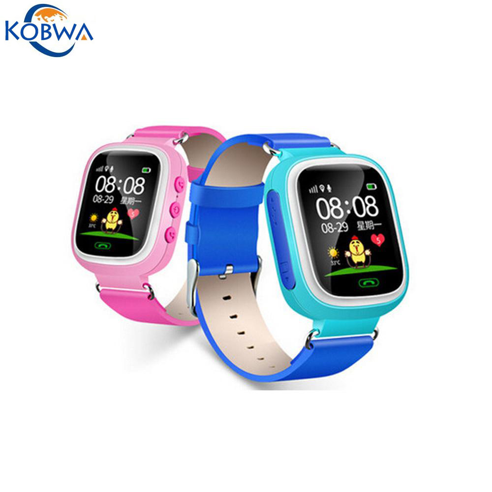 New Anti-lost GPS Locate Monitor Children Smart Watch Phone Kids Sports Wearable