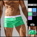 High Quality Trunks Mens Sexy  Low Adjust Waist Boxer Shorts   Board Shorts Sportswear
