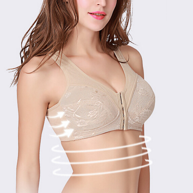 73158ebf8e335 Hot Sale Mastectomy Bra Crossdresser Fake Breast Pocket Bra for Breast  Forms Front Closure Fake Boobs Wireless Bra