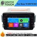 In-Car Multimedia Player Para Mercedes/Benz/W209/W203/W168/G/ML/W163/W463/Viano W639 Vito/Vaneo Con Sistema de Navegación GPS Estéreo
