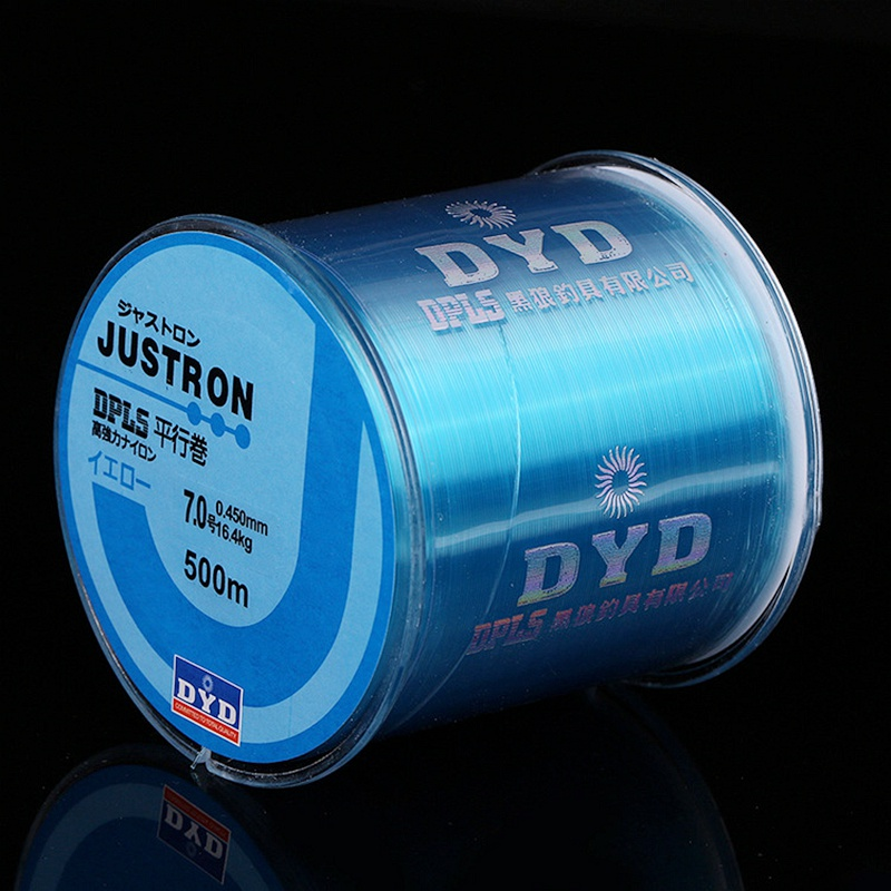 500m Nylon Fishing Line Japanese Durable Monofilament Rock Sea Fishing Line Super Strong Carp & Match Fishing Line