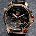 Fashion FORSINING JARAGAR Men's Wrist Watch Gift Mechanical Watches for Men Free Shipping W154701-4
