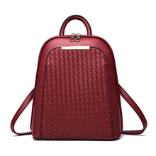 Frauen Rucksack Leder Rucksäcke Bonbonfarben Frauen Tasche Schultaschen Mochila Feminina Rucksack frauen Reisetaschen Mode Bolsas