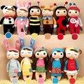 Metoo Angela куклы 35 см детские плюшевые игрушки куклы сладкий прекрасный мягкие игрушки Куклы для детей девочек День Рождения/Рождество подарок 14 Цвет