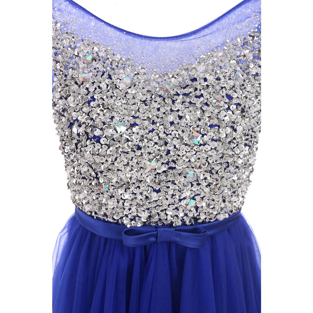 Til večernje haljine 2019 Novi dolazak Crystal stranka haljina Seksi - Haljina za posebne prigode - Foto 4