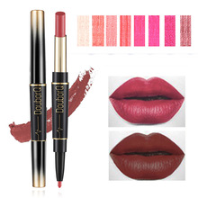 Lipstick Pencil Cosmetics Makeup Double-Ended Long-Lasting 8-Colors Brand Lip Wateproof