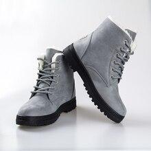 Mode cheville bottes pour femmes chaussures 2016 chaud neige bottes