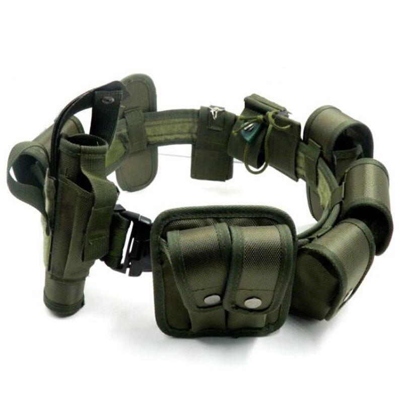 2016 Hot Outdoor Designer Men Belts Multi-function Tactical Belt Security Police Guard Utility Kit Nylo utility belt police belt