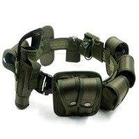 2019 Hot Outdoor Designer Men duty Belts Multi function Tactical Belt Security Police Guard Utility Kit Nylon utility duty belt
