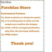 Patchfan индивидуальные патчи с вашим дизайном или логотипом