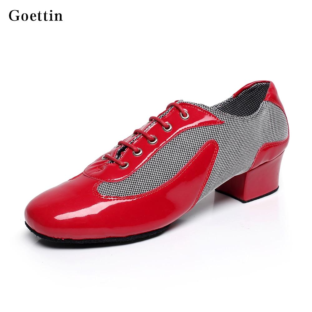 Hot Sale Heren Latin Schoenen Professional Men Practice Schoenen Tango