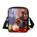 FORUDESIGNS Women Messenger Bags The Secret Life of Pets Mini Children Crossbody Bag Cartoon Zootopia Bags for Children Girls