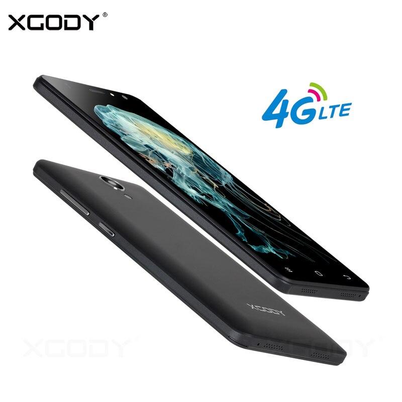 Xgody 4G Smartphone RAM 1 GB ROM 8 GB Quad Core Cámara de 8MP Teléfono celular d