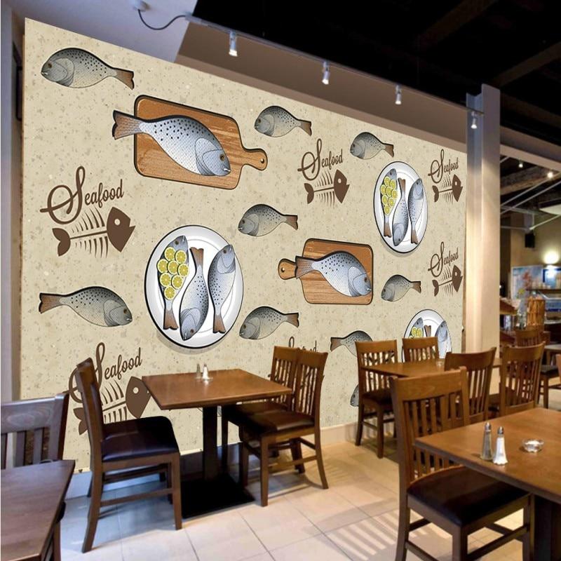 Restaurant Kitchen Wallpaper online get cheap kitchen wall wood -aliexpress | alibaba group