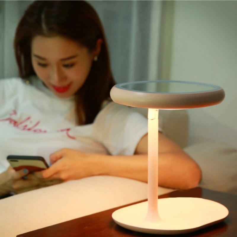 KKWL поставить зеркало хранения CellBracket третье поколение креативного макияжа лампа настольная зарядки затемнением макияж хранения