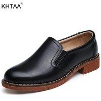KHTAA Wohnungen Frau Vintage Gummiband Schuhe Mode Nähen Low Heels Damen Schuhe Slip Auf Weibliche Flache Plattform Schuhe