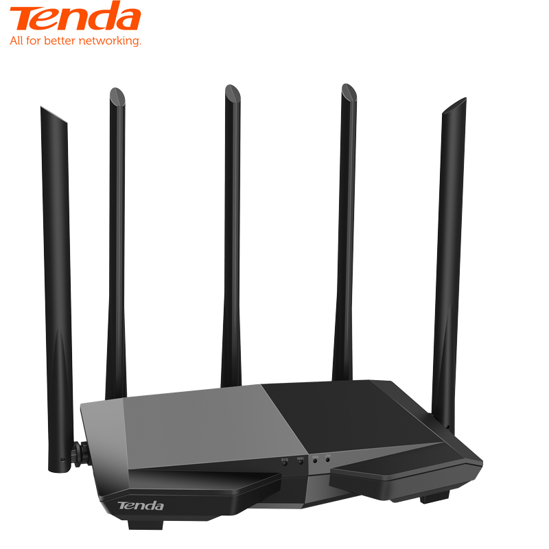 Tenda AC7 AC1200M Wireless WiFi Router With 2.4Ghz/5.0Ghz High Gain Antenna Home Coverage Dual Band Wifi Repeater,App Control
