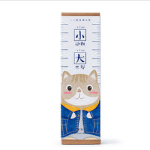 30pcs/box Cute animal world Marker Stationery Gift Realistic Kawaii Cartoon Bookmarks Office School Supply