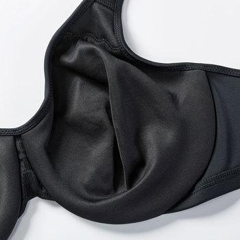 Delimira Women's Smooth Full Figure Underwire Seamless Minimizer Bra 4
