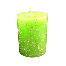 3D Silicone Soap Candle Mold Classical Relief Cylinder Mould for Handmade Craft Cake Decoration Tool