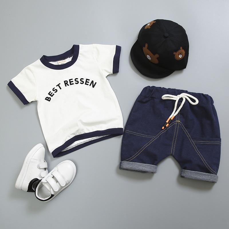 conjuntos de roupas da criança infantil fatos de treino