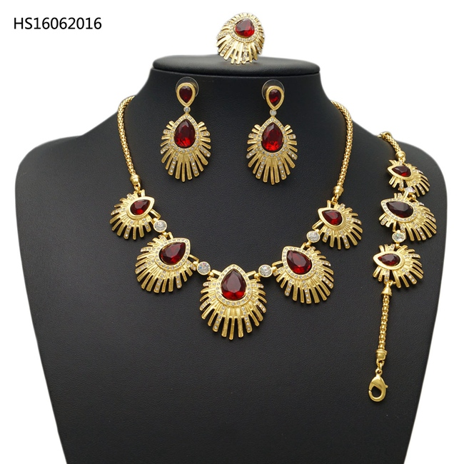 YULAILI Latest Dubai Gold Color Jewelry Sets Fashion Nigerian Wedding African Beads Costume Necklace Bangle Earring RingYULAILI Latest Dubai Gold Color Jewelry Sets Fashion Nigerian Wedding African Beads Costume Necklace Bangle Earring Ring