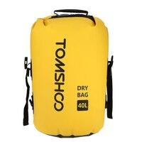 TOMSHOO 40L уличная Водонепроницаемая сухая сумка для плавания сумка для хранения для путешествий рафтинг катание на лодках Каякинг каноэ кемпи...