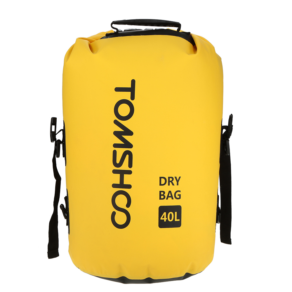40L Drybag Seesack Bootfahren Wasserdichte Trockentasche Camping Packsack Nylon