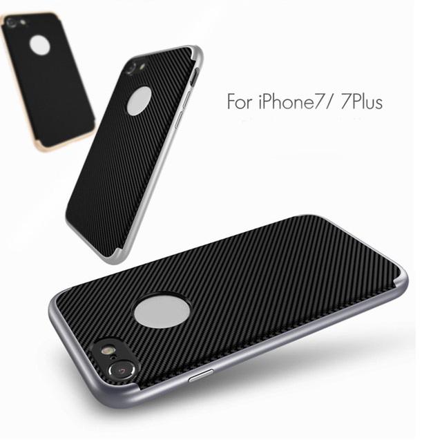 Silicone Dual Hybrid Phone Case iPhone 5S  6 6S  7 7Plus