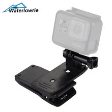 Waterlowrie 360-Degree Rotation Clip For GoPro Hero 6 5 4 3+ 3 2 1SJCAM VP512 SJ4000/SJ5000/SJ6000/SJ7000 for Go Pro Accessories(China)