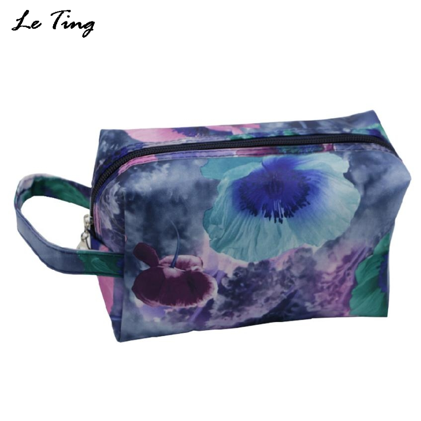 Makeup Bags Floral Women Toiletry Bag Brand Cosmetic Bag Designer Travel  Make Up Case Necessaries Clutches. Popular Designer Toiletry Bags Buy Cheap Designer Toiletry Bags