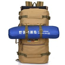 50L Military Tactical Backpack Camping Bags Mountaineering bag Men s Hiking Rucksack Travel Backpack With Raincover