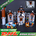 New Lepin 07055 Genuine Batman Movie Series THe Arkham`s Lunatic Asylum Set Building Blocks Bricks Toys 70912