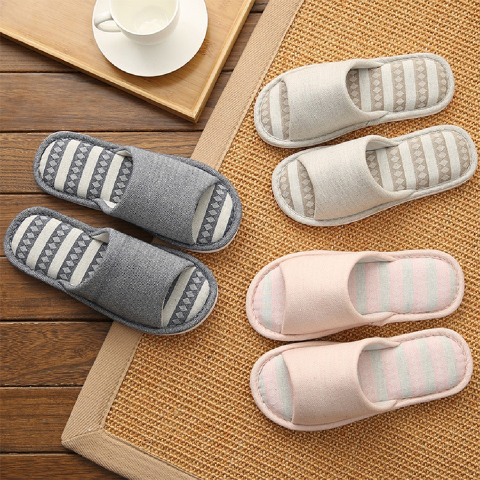 Woman Man New PVC+Cotton Slippers Indoor Chaussures Non-slip Shoes Femme Mules Fur Slippers Household Shoes Winter Autumn jooyoo 3