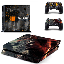 HOMEREALLY Stickers call of duty black ops 4 PS4 Skin Sticker for Sony Play Station Console and Controller ps4 slim skin
