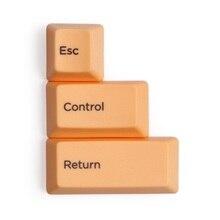 ESC Control Rückkehr Raum Bar Kapazität Tastatur Tastenkappen PBT Sublimation Bunte Schlüssel Kappe Für Topre Echt Kraft HHKB Tastatur
