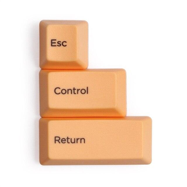Esc制御リターンスペースバー容量キーボードキーキャップpbt昇華のためのカラフルなキーキャップtopreリアル力hhkbキーボード