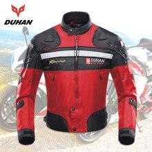 DUHAN Motorcycle jacket men Protective Moto Jacket Motocross Off Road Dirt Bike Riding Windproof Jaqueta racing