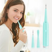 цена на 2 In 1 Sonic Dental Scaler Tooth Calculus Plaque Remover Tooth Stains Tartar Tool Dentist Teeth Health Hygiene Tooth Whitening