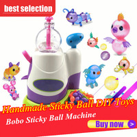 Innovative Handmade Sticky Ball DIY Toys For Kids Chid Children Bobo Sticky Music Sticky Ball Machine Toy For Boy Girl