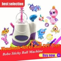 Innovative Handmade Sticky Ball DIY Toys For Kids Chid Children Bobo Sticky Music Sticky Ball Machine Toy For Boy Girl