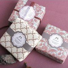 Autocollant de sceau style «fait à la main», étiquette autocollante en papier auto-adhésif pour emballage cadeau de produits faits maison, DIY bricolage, 30 pièces/lot