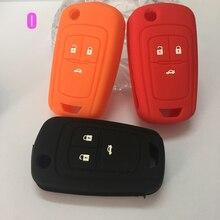 silicone car key case protection covers for Opel Mokka Astra Corsa Antara Meriva Zafira Insignia key